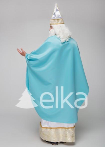 Костюм Святого Николая Богослов голубой