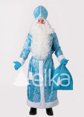 Костюм Святого Николая голубой