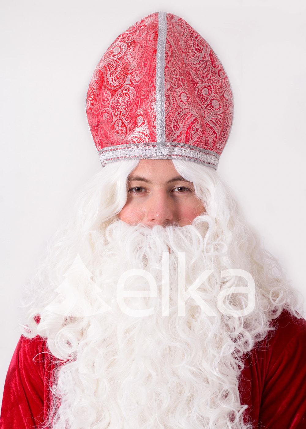 Костюм Святого Николая красный