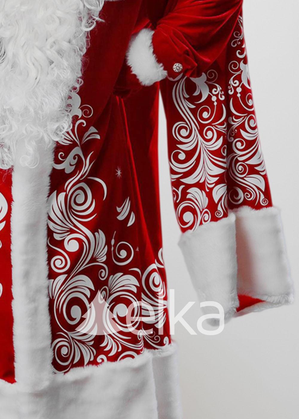 Костюм Деда Мороза Морозный