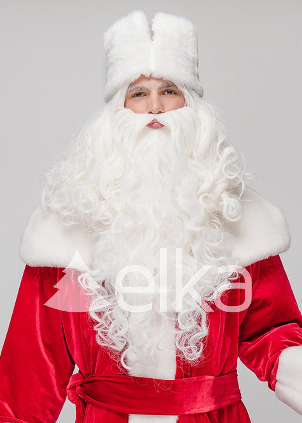 Костюм Деда Мороза Люкс