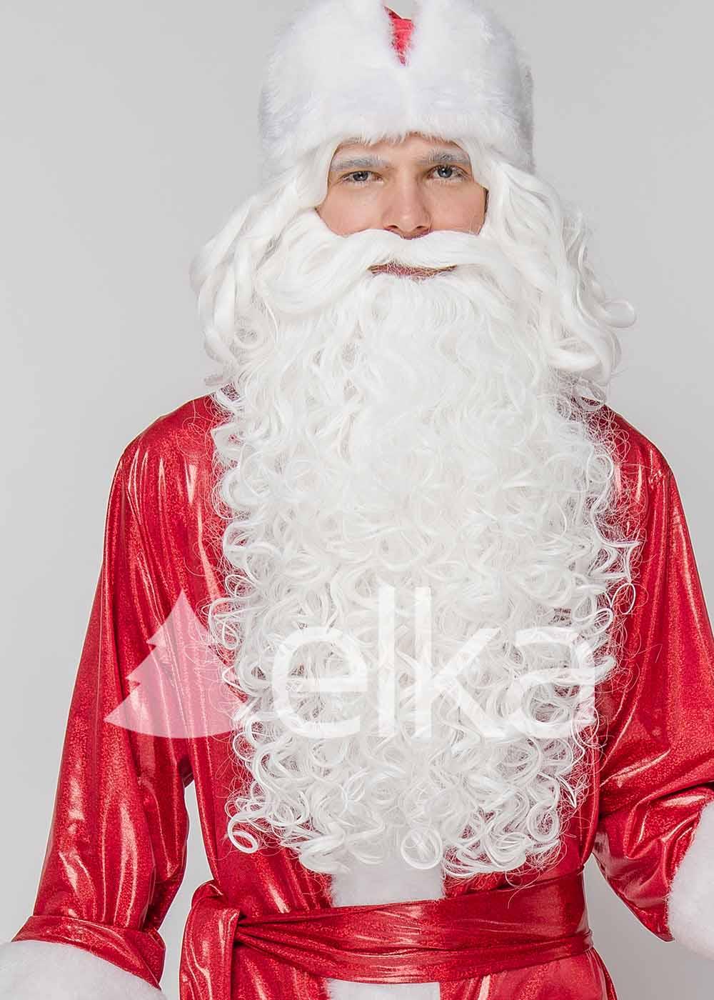 Костюм Деда Мороза Морозко красный