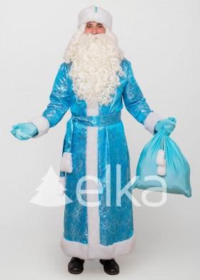 Костюм Деда Мороза Троицкий небесный