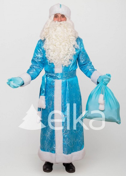 Костюм Діда Мороза Троїцький небесний