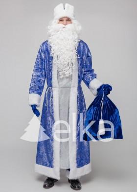 Костюм Деда Мороза Самсон синий