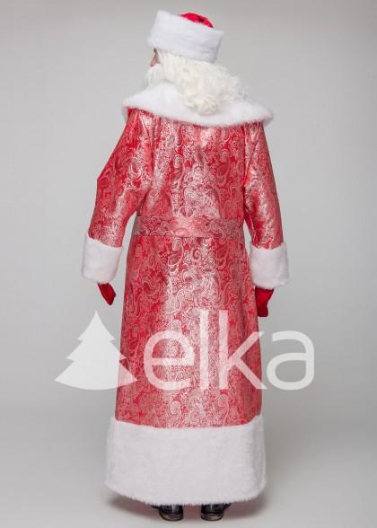 Костюм Деда Мороза Норвежский Красный