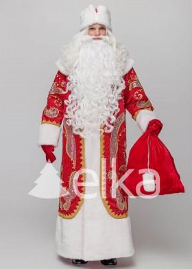 Костюм Деда Мороза Феникс красный