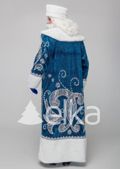 Костюм Діда Мороза Фенікс синій
