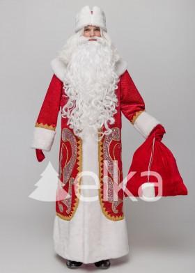Костюм Деда Мороза Знаменский красный