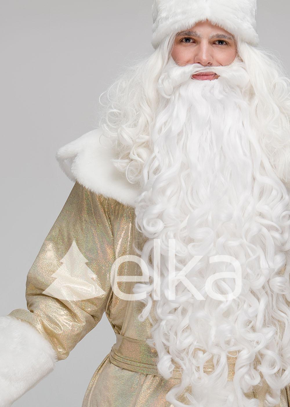 Костюм Деда Мороза Владимирский золотой