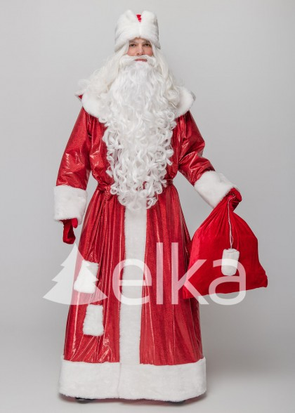 Костюм Деда Мороза Владимирский красный