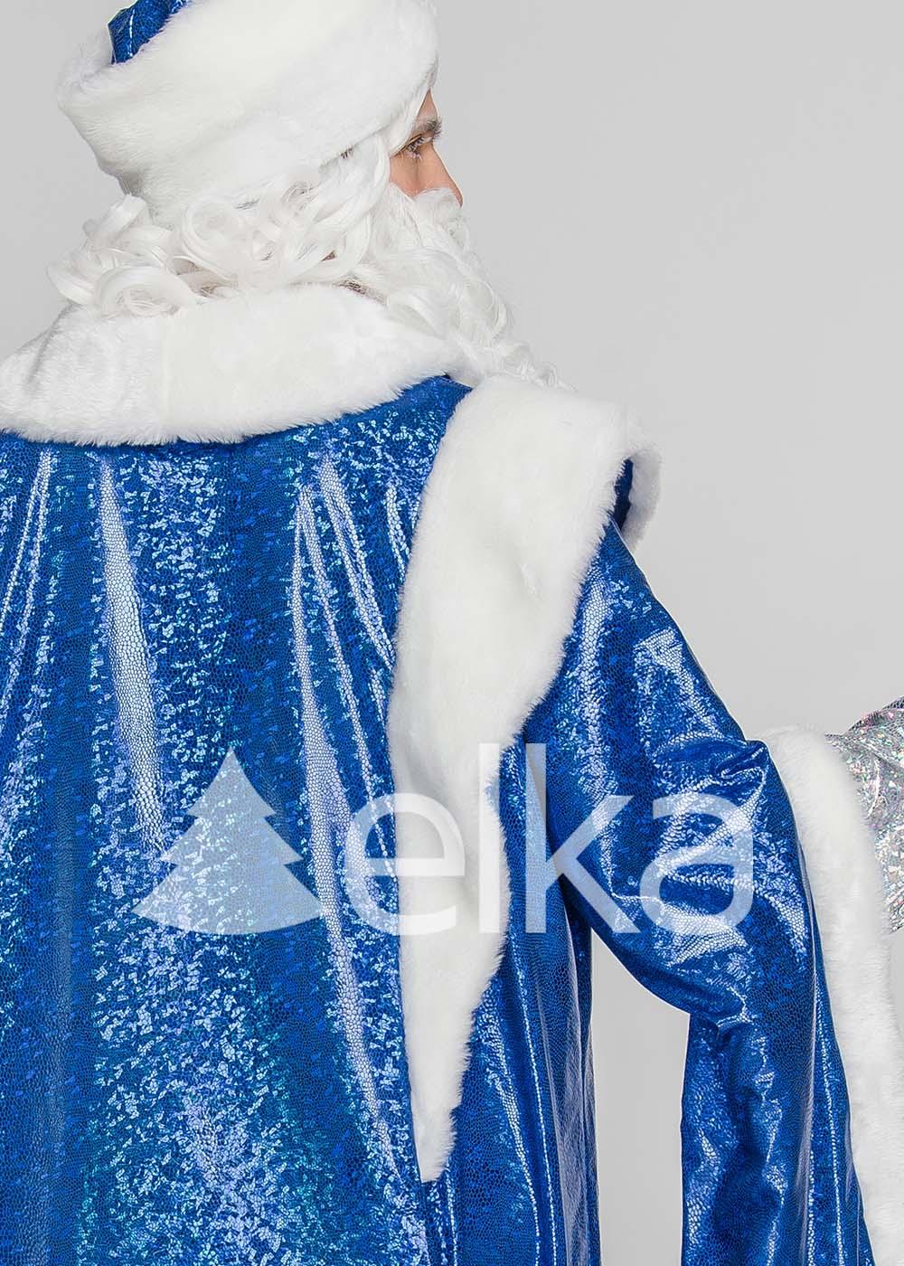 Костюм Деда Мороза Верховный синий
