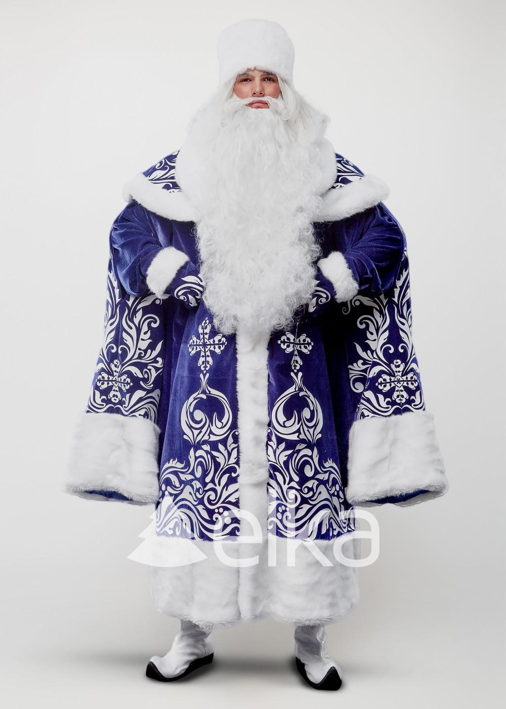Костюм Деда Мороза Крестовый