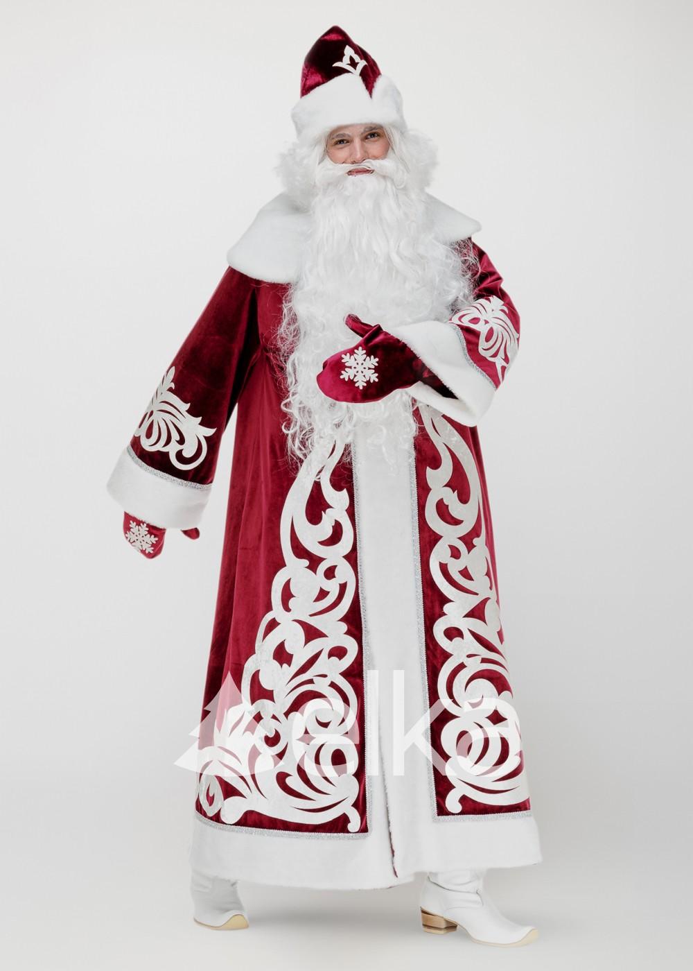 Костюм Деда Мороза Узорный