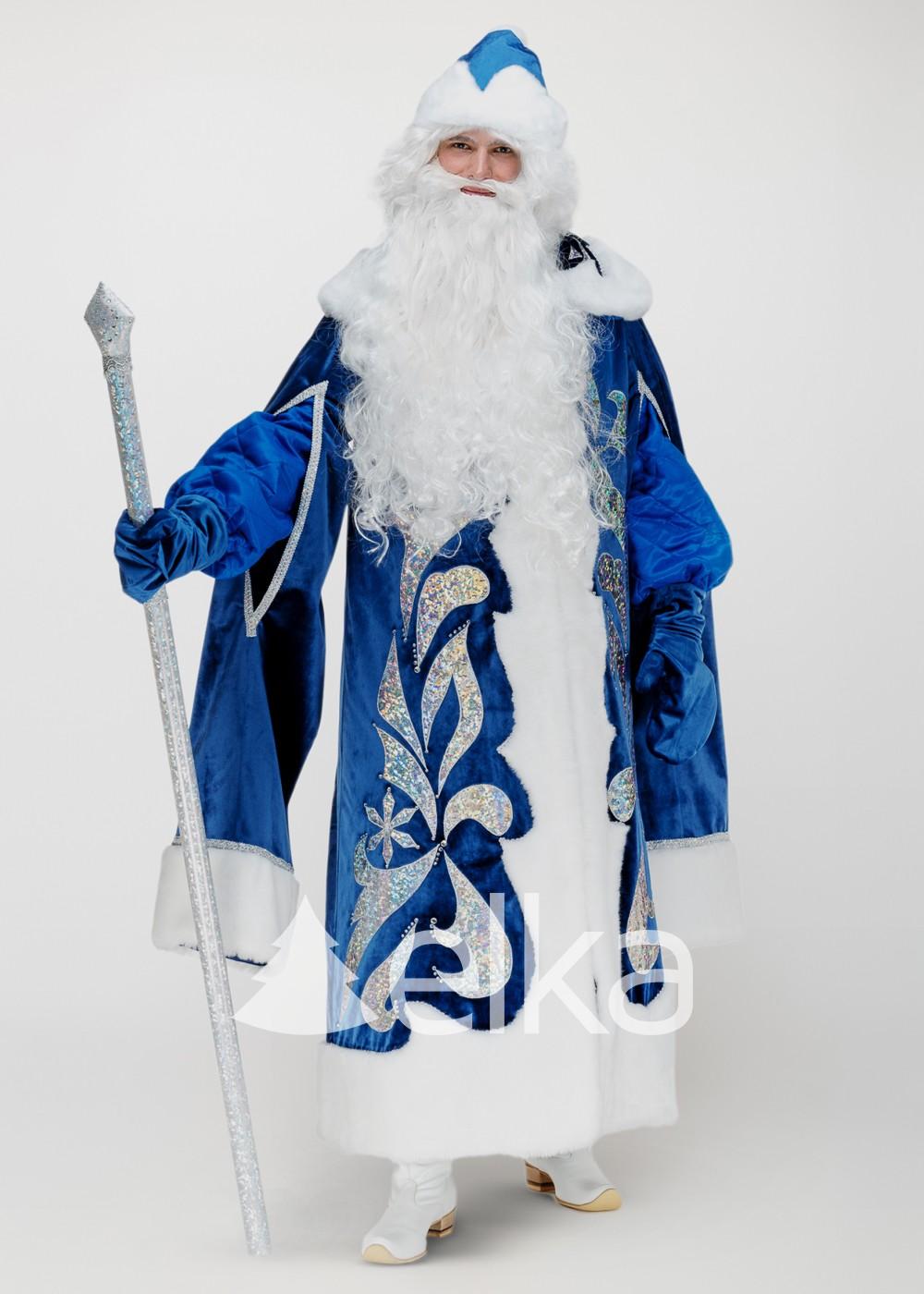 Костюм Деда Мороза Ледяной