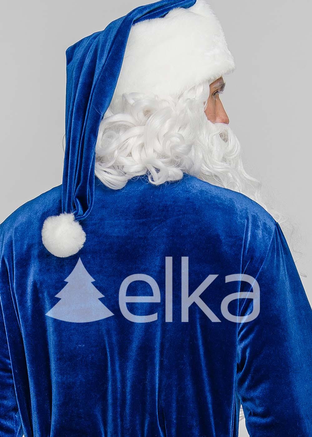 Костюм Санта Клауса Элит синий