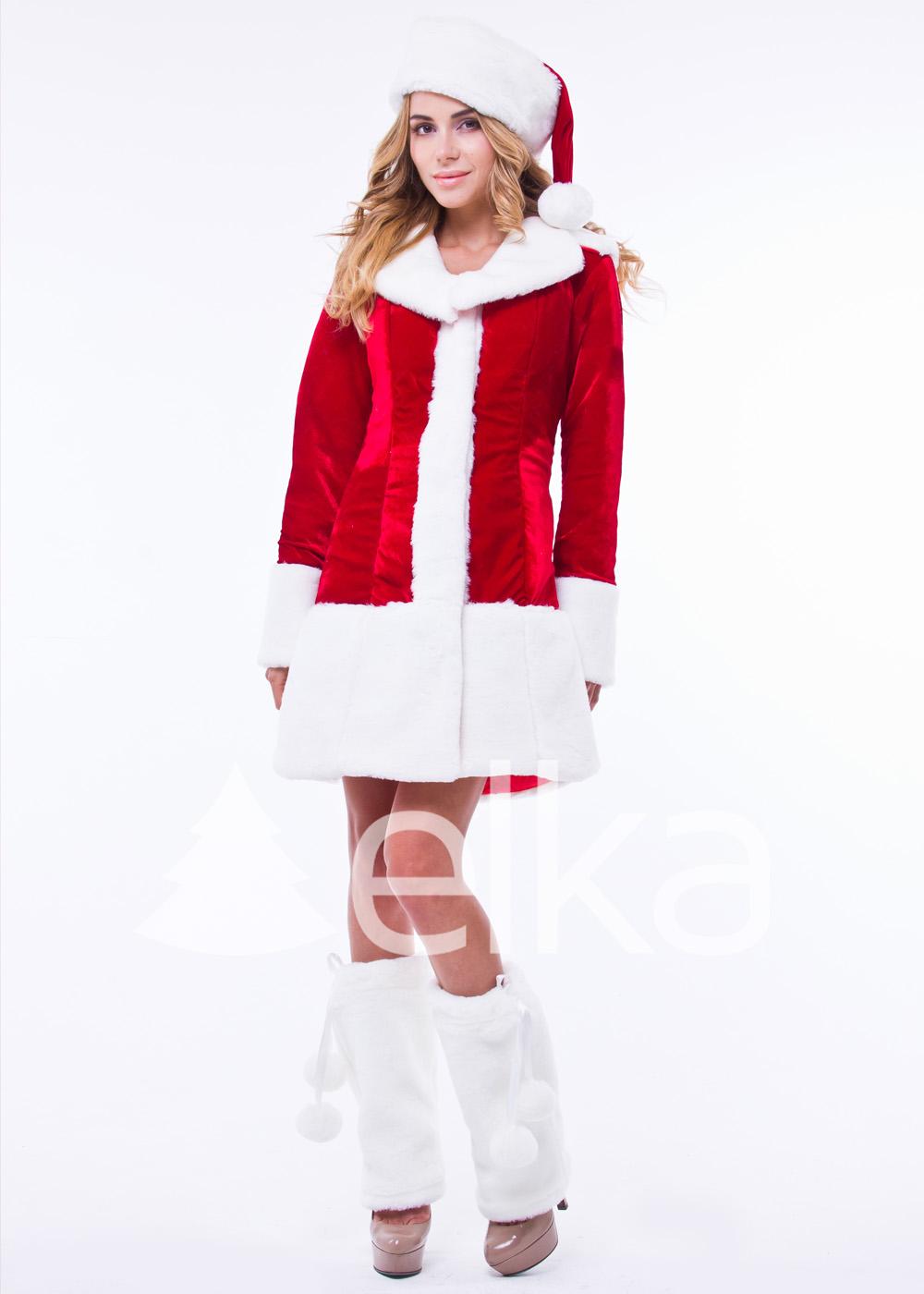 Костюм Снегурочки Санта