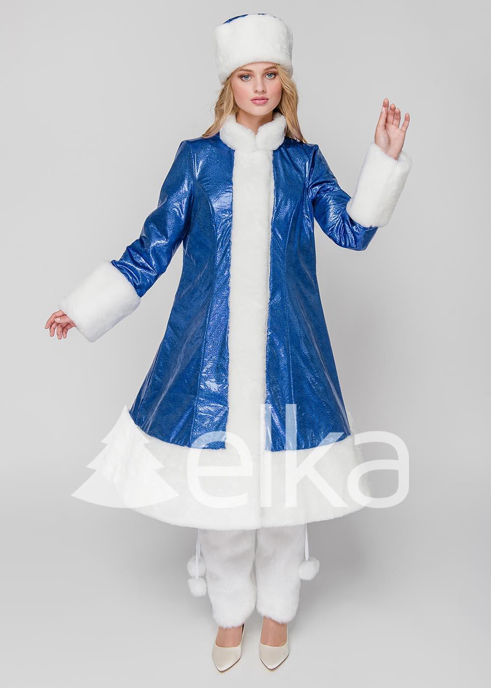 Костюм Снегурочки Стелла синяя