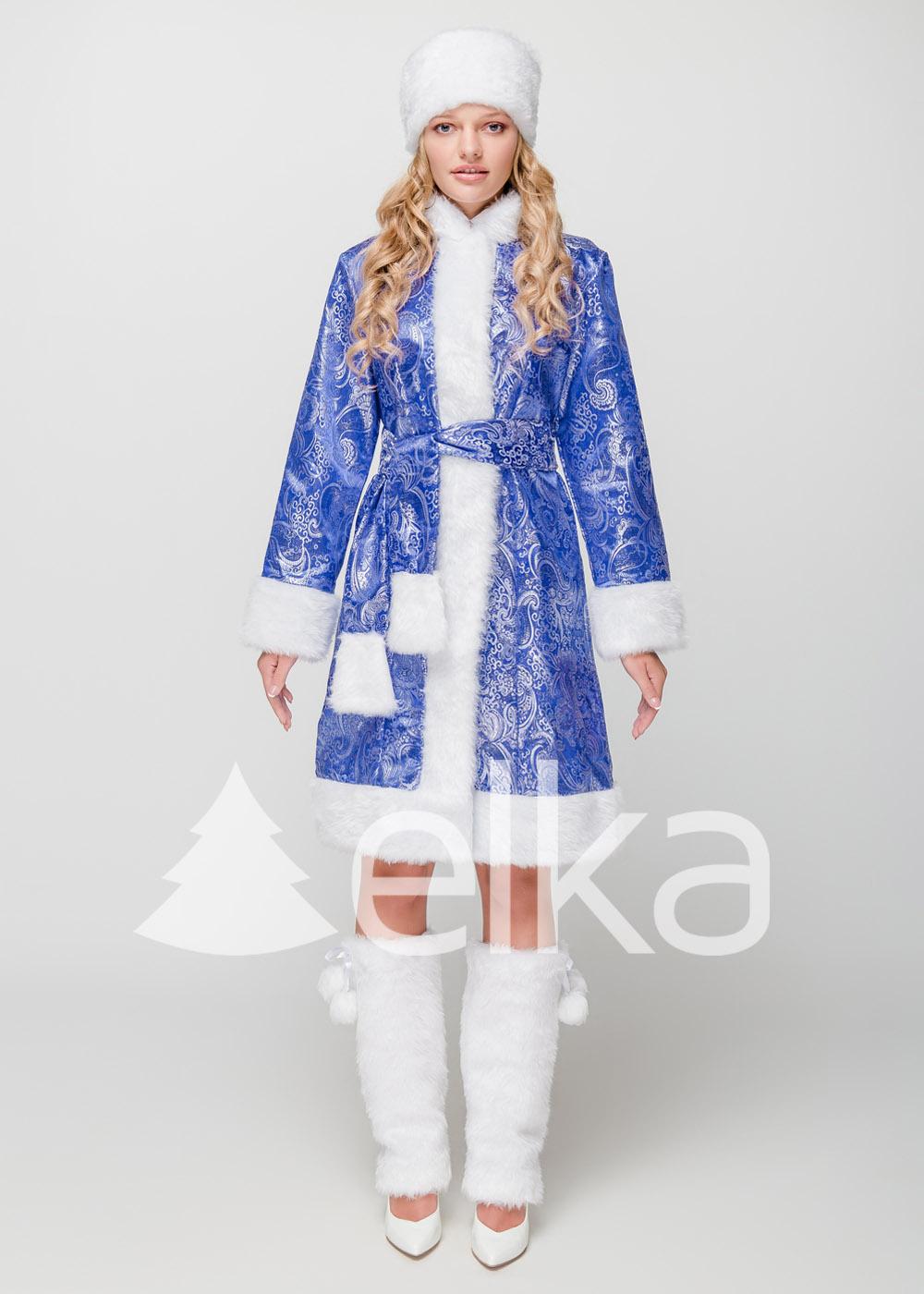 Костюм Снегурочки Аврора синяя
