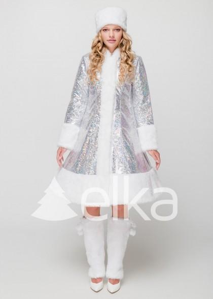 Костюм Снегурочки Стелла белая