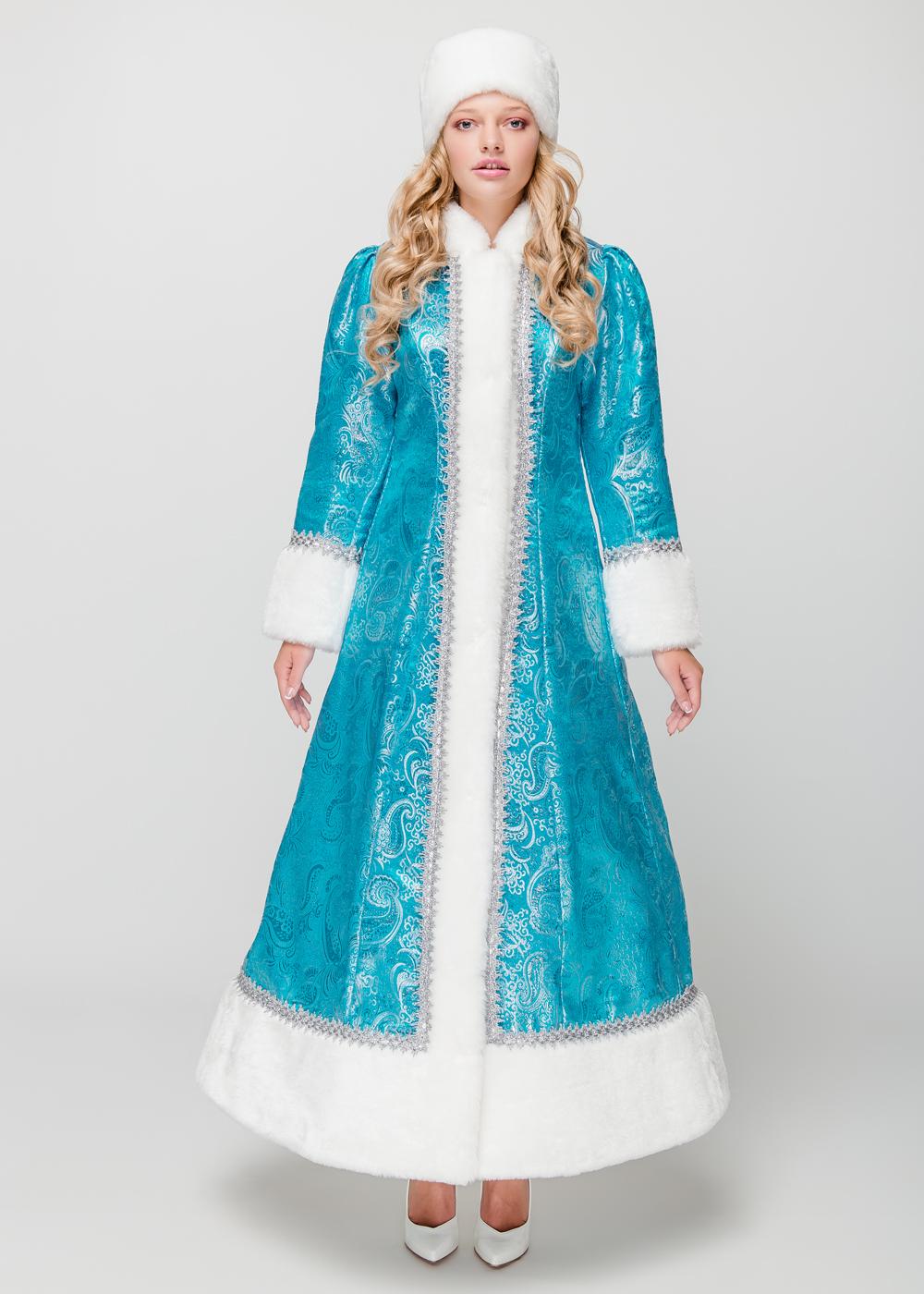 Костюм Снегурочки Атланта голубая