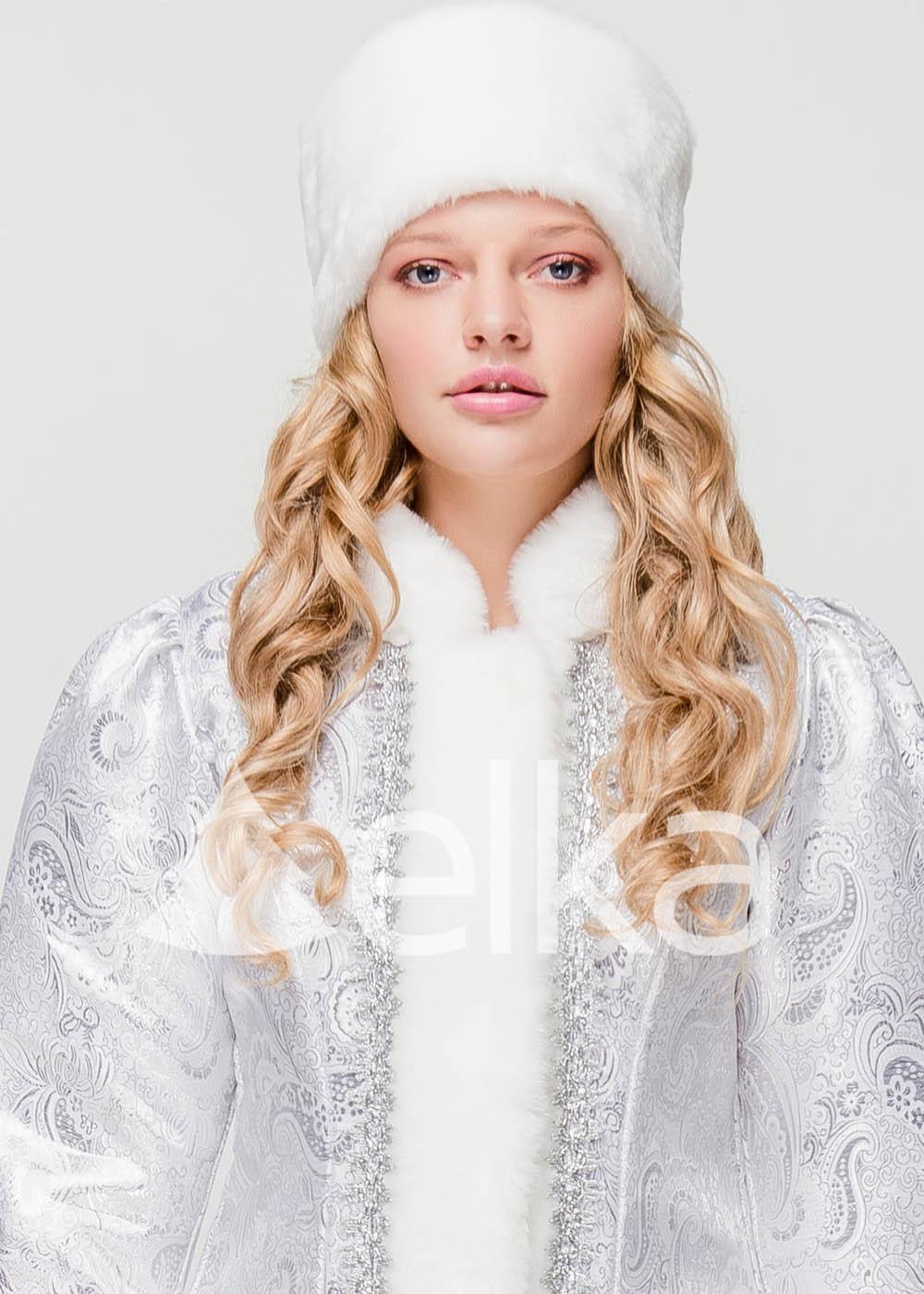 Костюм Снегурочки Атланта белая