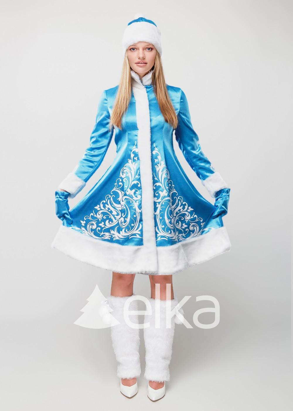 Костюм Снегурочки Лазурная