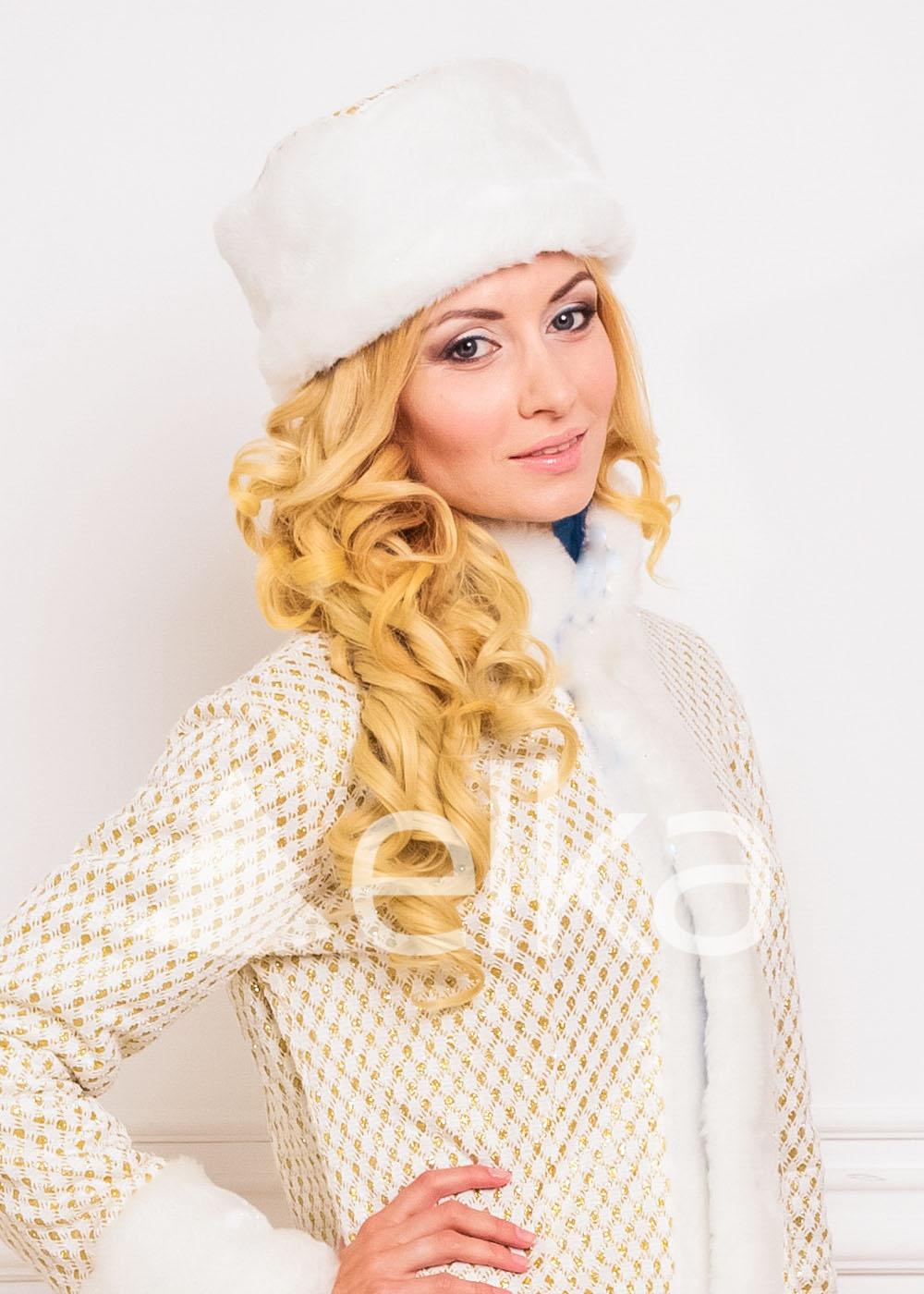 Костюм Снегурочки Голд