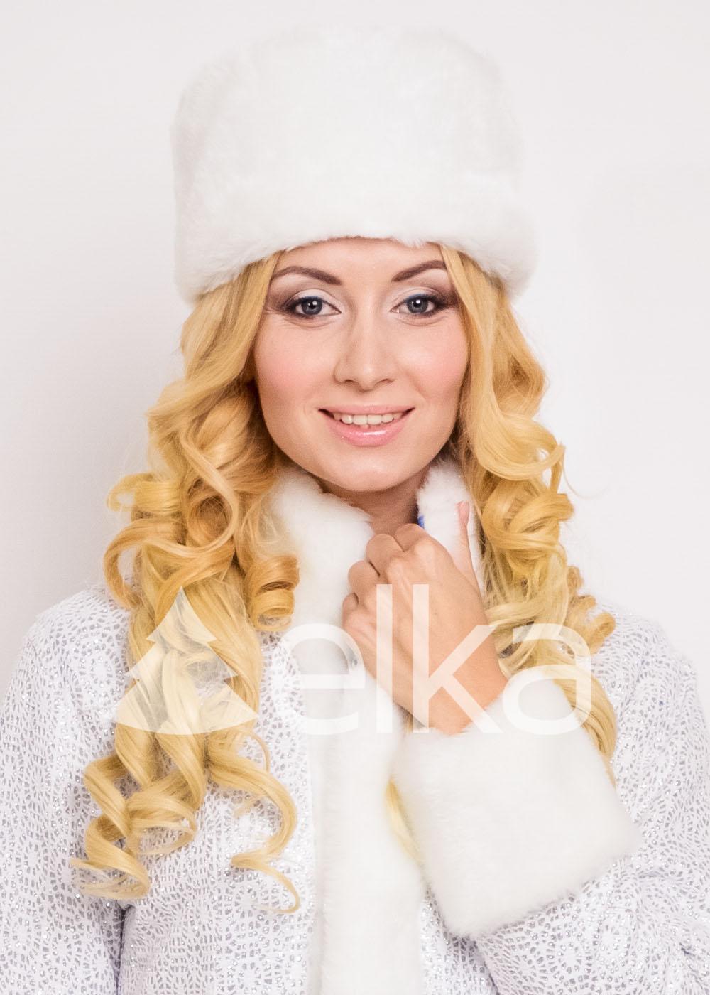 Костюм Снегурочки Платина